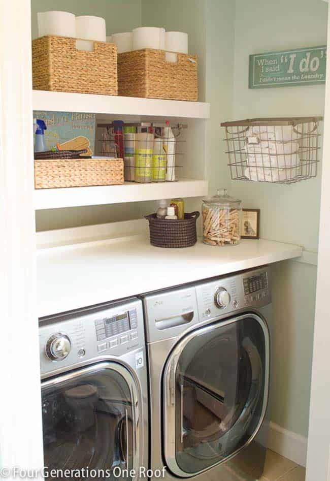 Functional-Stylish Small Laundry Rooms-27-1 Kindesign