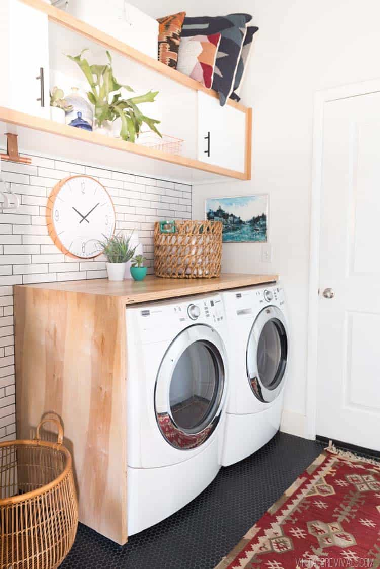 Functional-Stylish Small Laundry Rooms-33-1 Kindesign