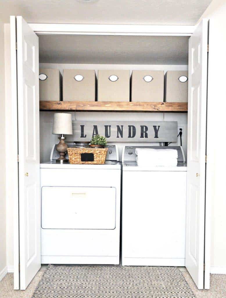 Functional-Stylish Small Laundry Rooms-35-1 Kindesign