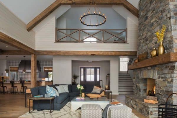 featured posts image for This Minnesota lake house combines rustic charm with coastal elegance