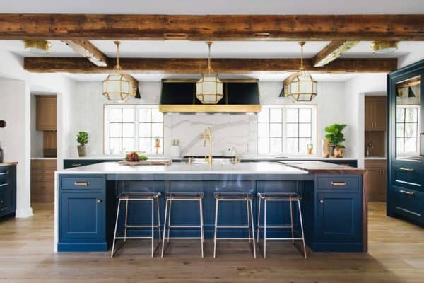 featured posts image for Delightful modern farmhouse style home nestled in East Grand Rapids