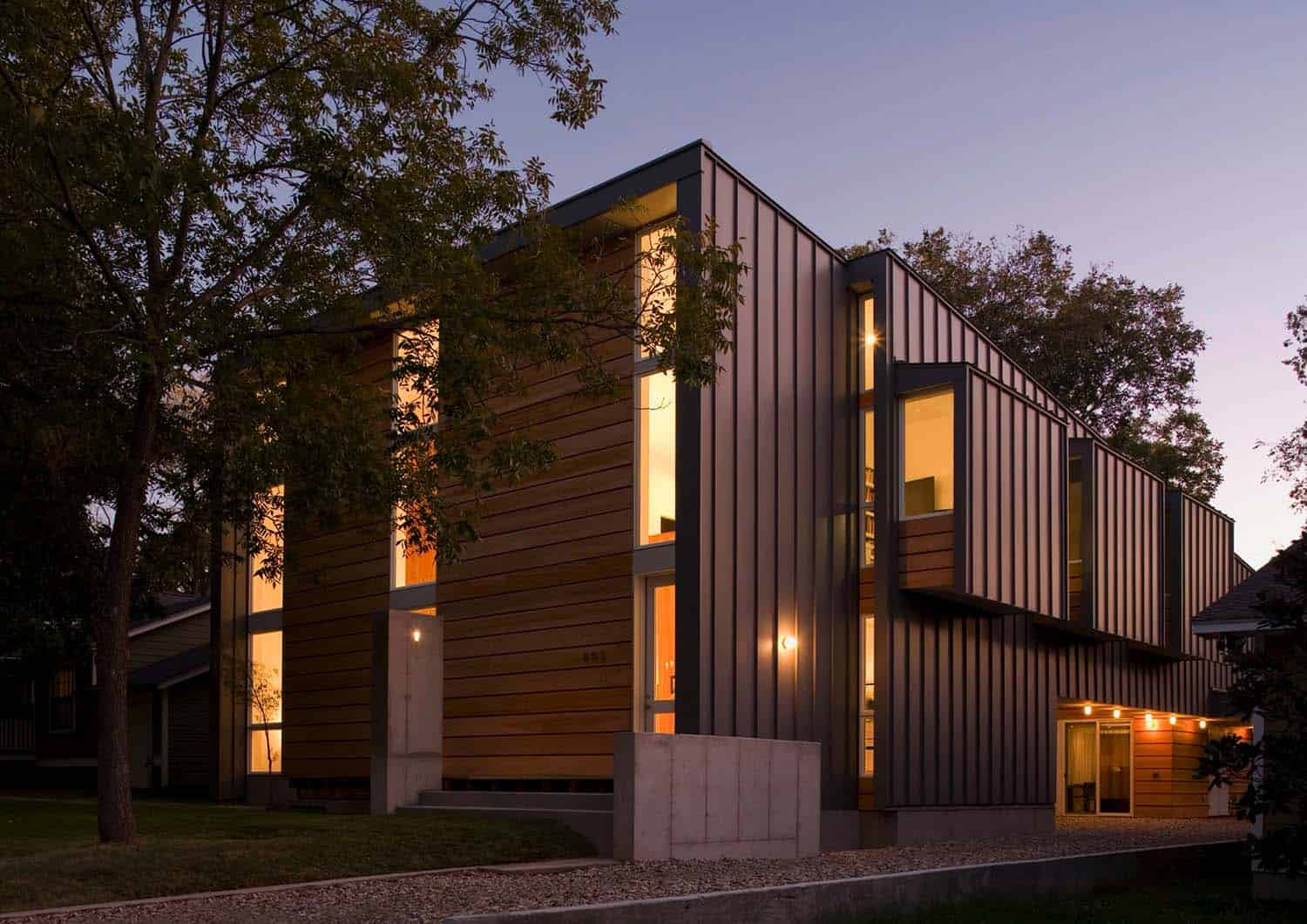 Minimally designed home in Austin features intriguing architectural ...