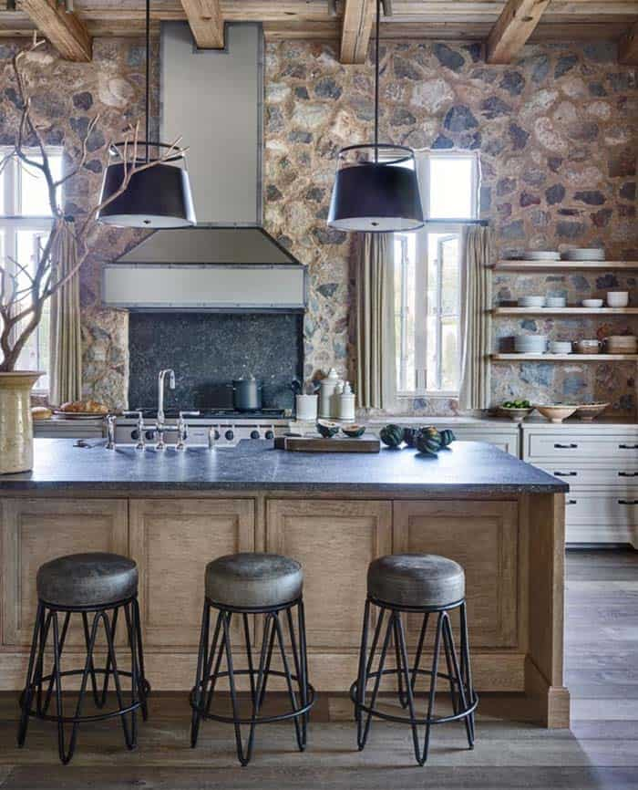 Rustic Eclectic House-David Michael Miller-04-1 Kindesign