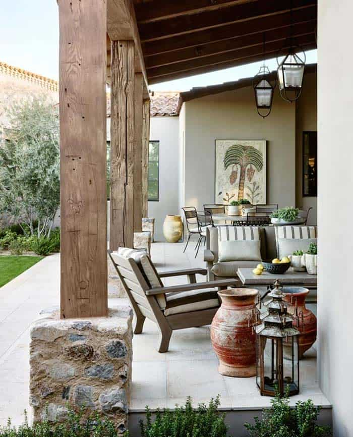 Rustic Eclectic House-David Michael Miller-11-1 Kindesign