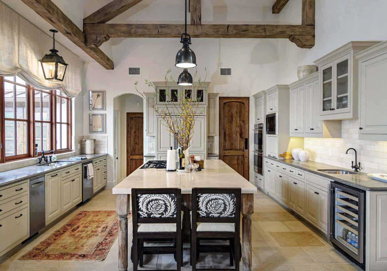 Rustic Mediterranean Style Home Design-06-1 Kindesign