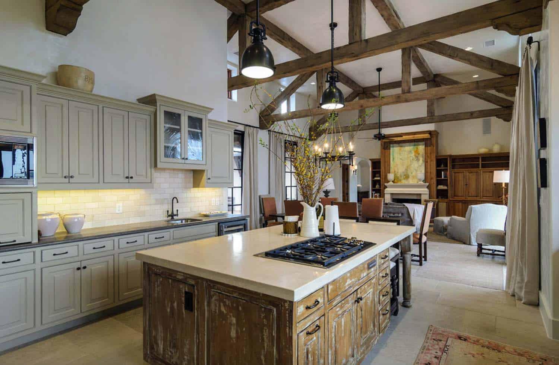 Rustic Mediterranean Style Home Design-10-1 Kindesign
