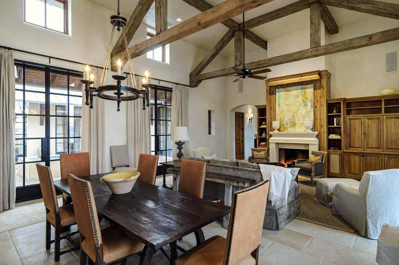 Rustic Mediterranean Style Home Design-13-1 Kindesign