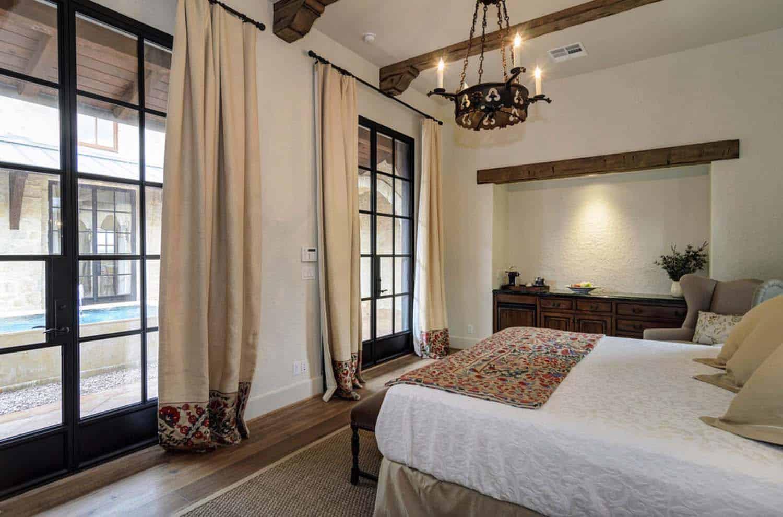 Rustic Mediterranean Style Home Design-18-1 Kindesign