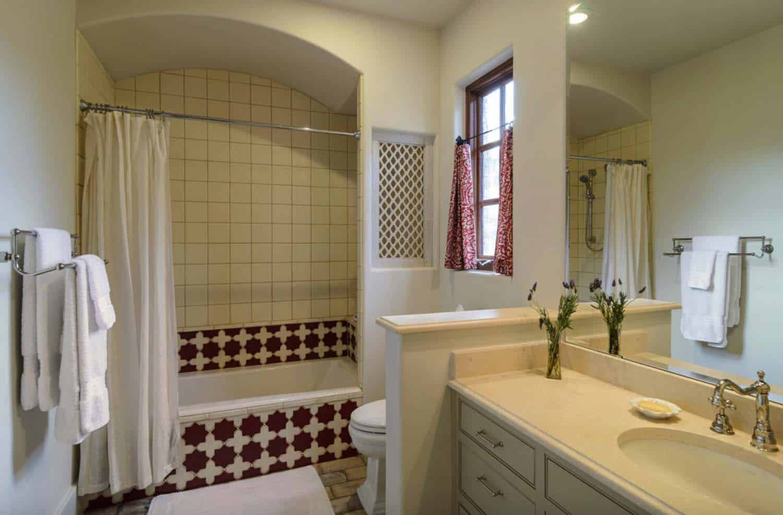 Rustic Mediterranean Style Home Design-22-1 Kindesign