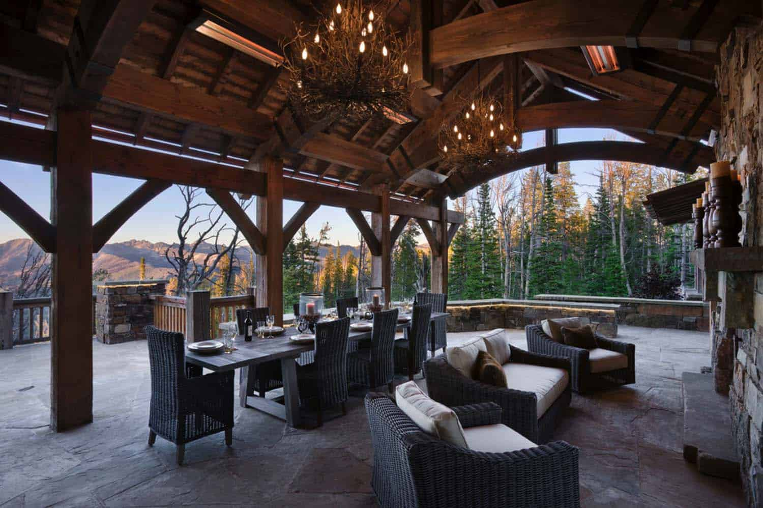 Rustic Mountain Retreat-Locati Architects-05-1 Kindesign