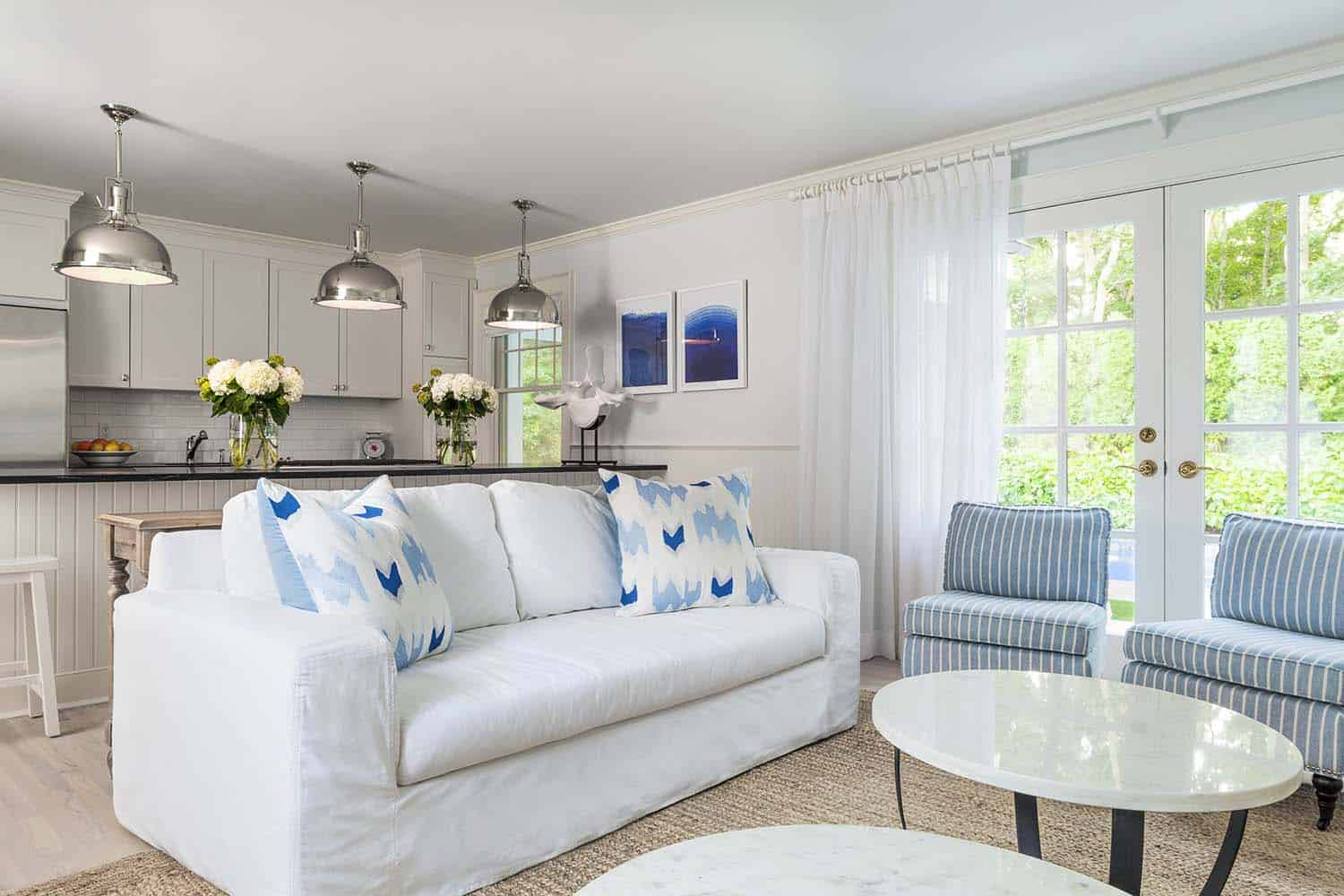 Cozy beach cottage gets re-imagined in the village of East Hampton