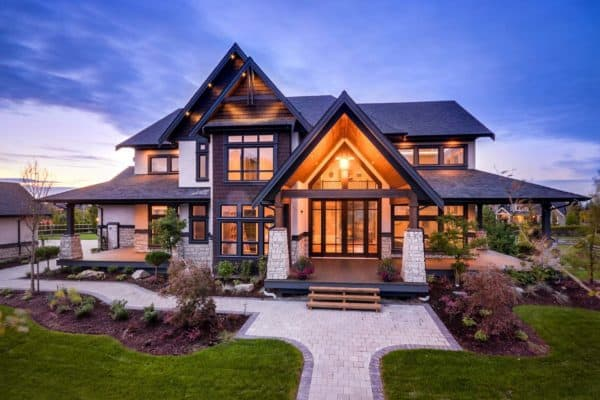 featured posts image for Transitional style home in British Columbia showcases gorgeous details