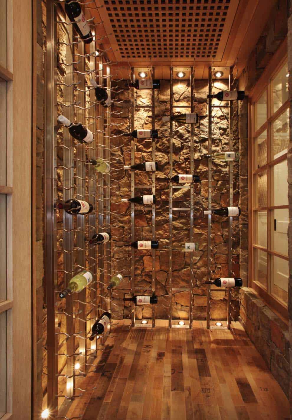 Beach Style Home-Wine Cellar