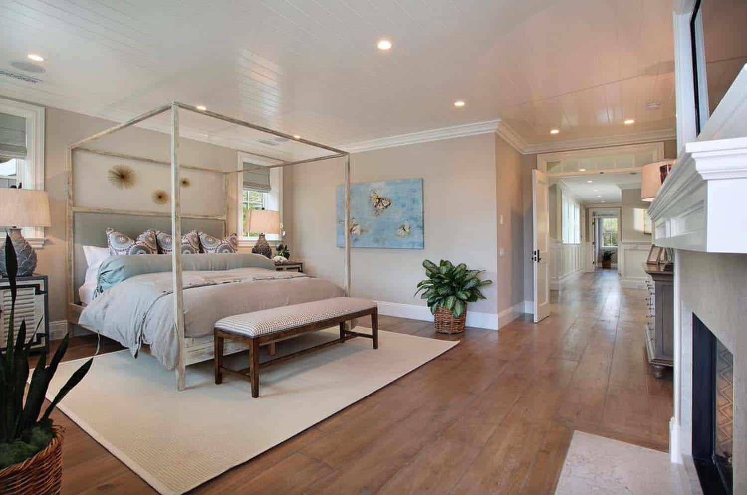 Beach Style Home-Bedroom