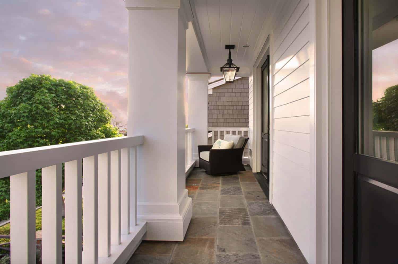 Beach Style Home-Balcony