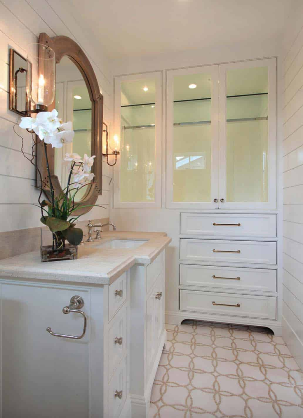 Beach Style Home-Bathroom