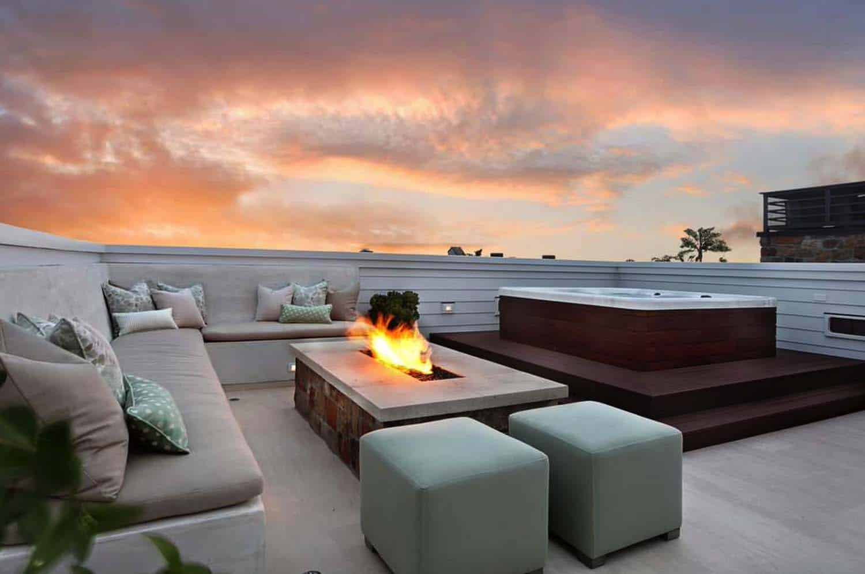 Beach Style Home-Deck