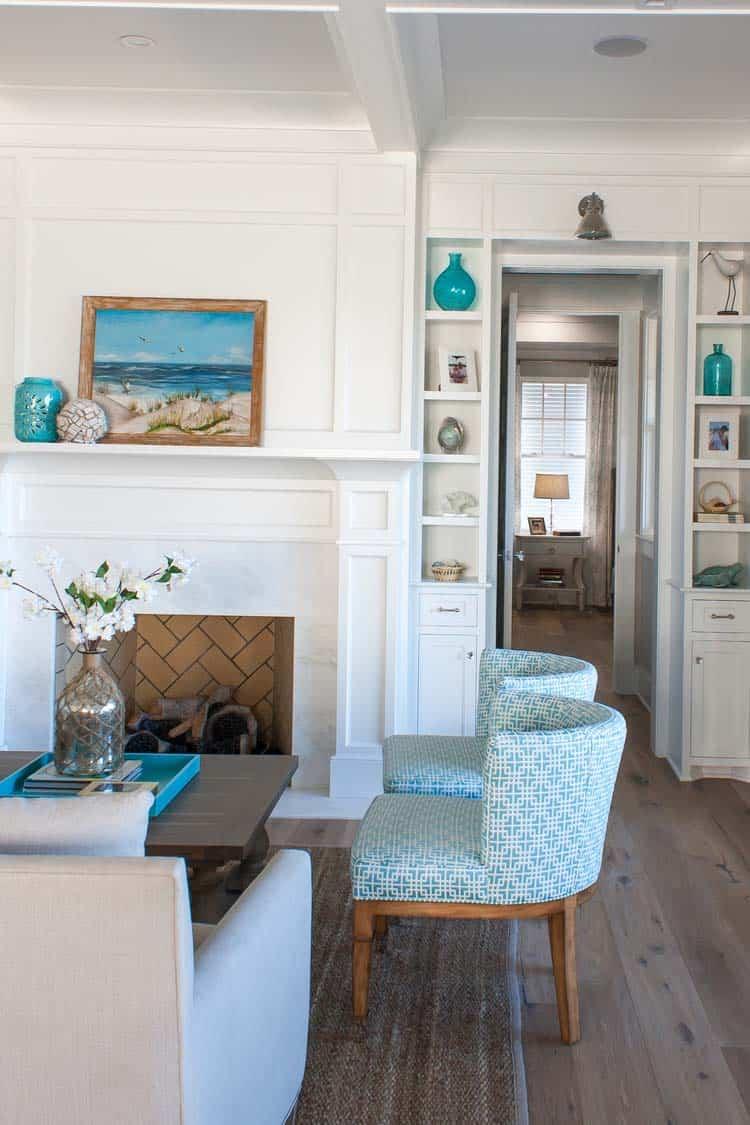 Coastal Style Family Room