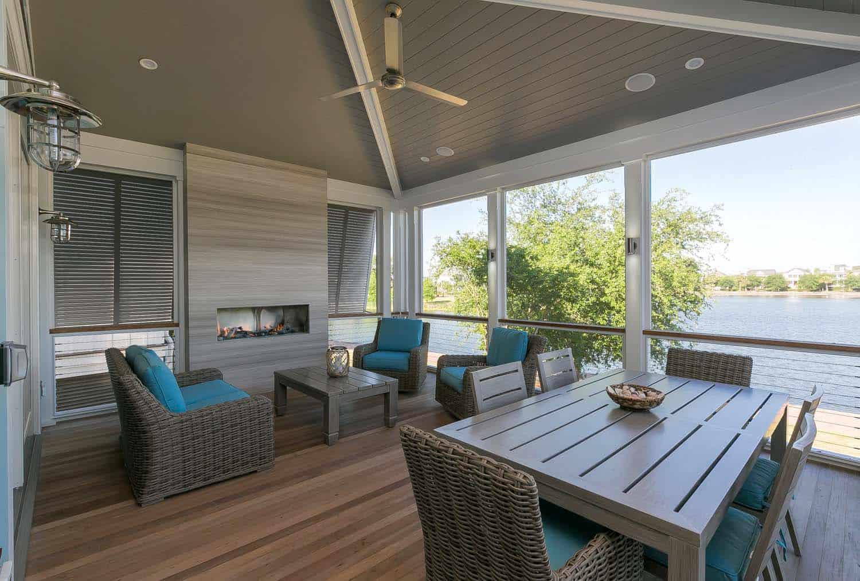 Coastal Style Porch