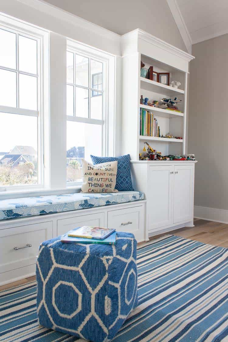 Coastal Style Playroom
