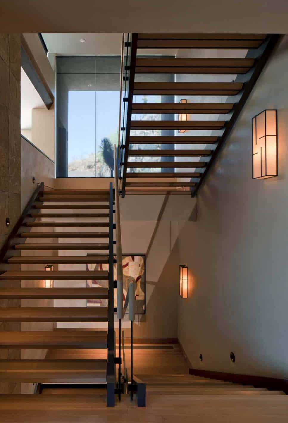 southwestern staircase