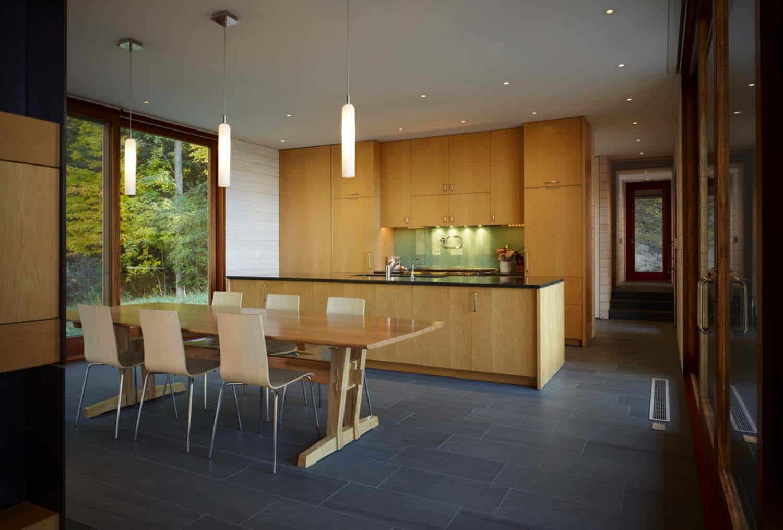 Contemporary Family Retreat-Kitchen