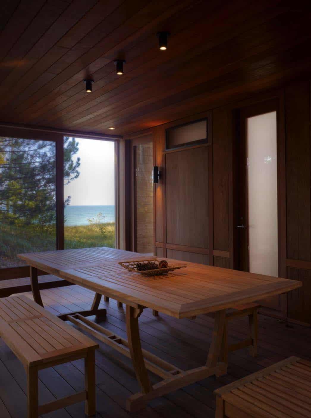 Contemporary Family Retreat-Dining Room
