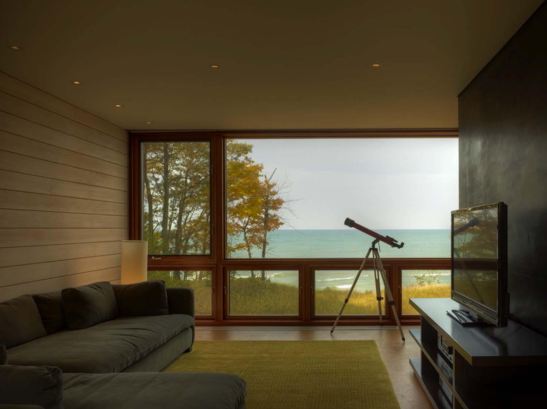 Contemporary Family Retreat-Family Room