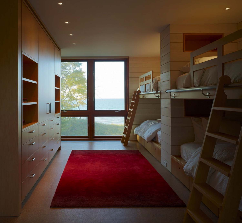 Contemporary Family Retreat-Bunk Room