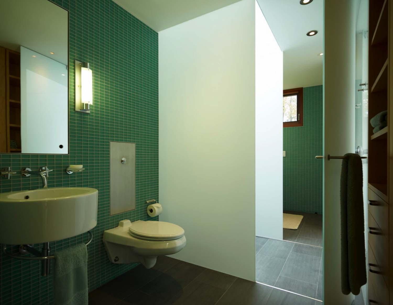 Contemporary Family Retreat-Bathroom