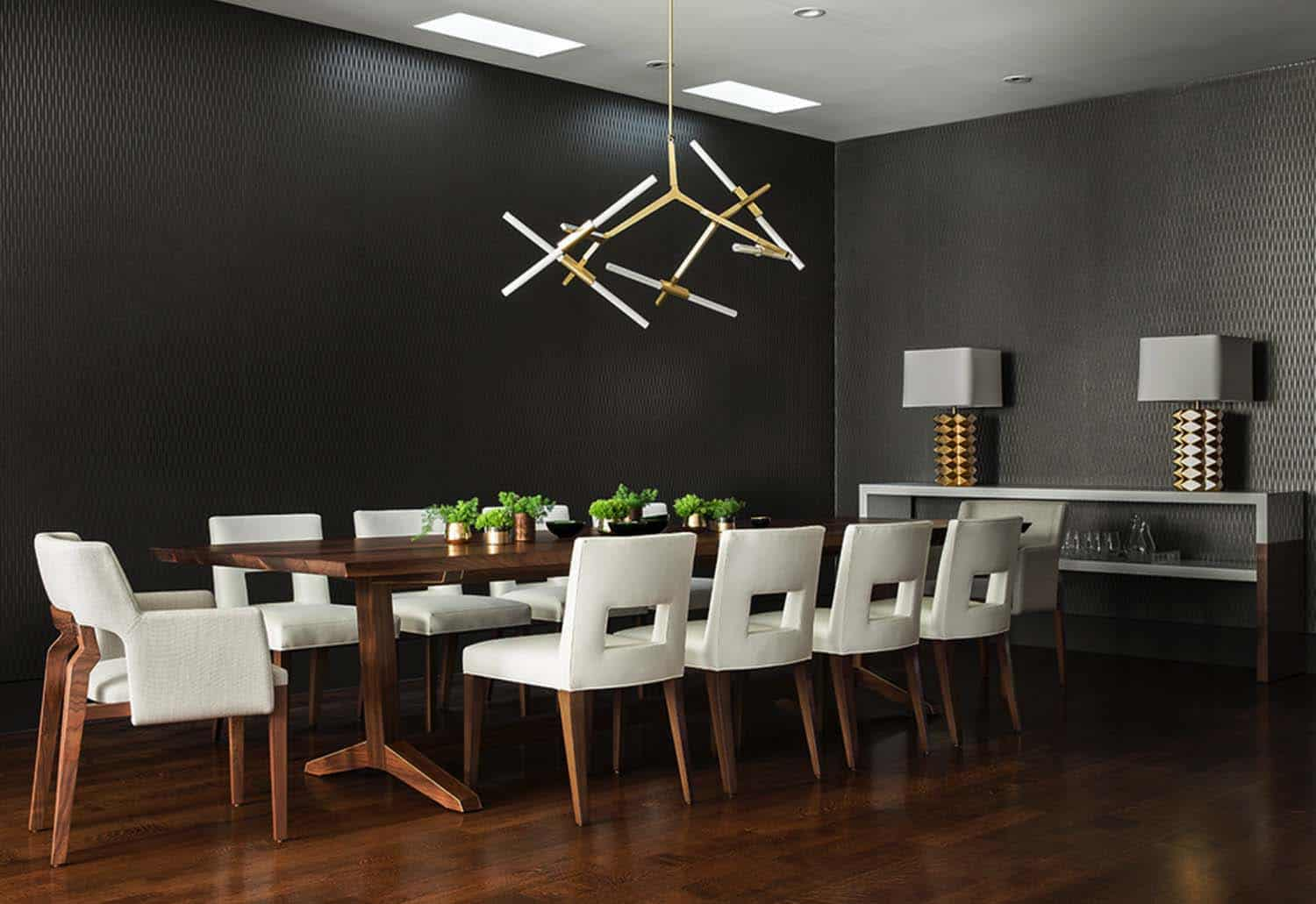 Contemporary Home Design-Dining Room