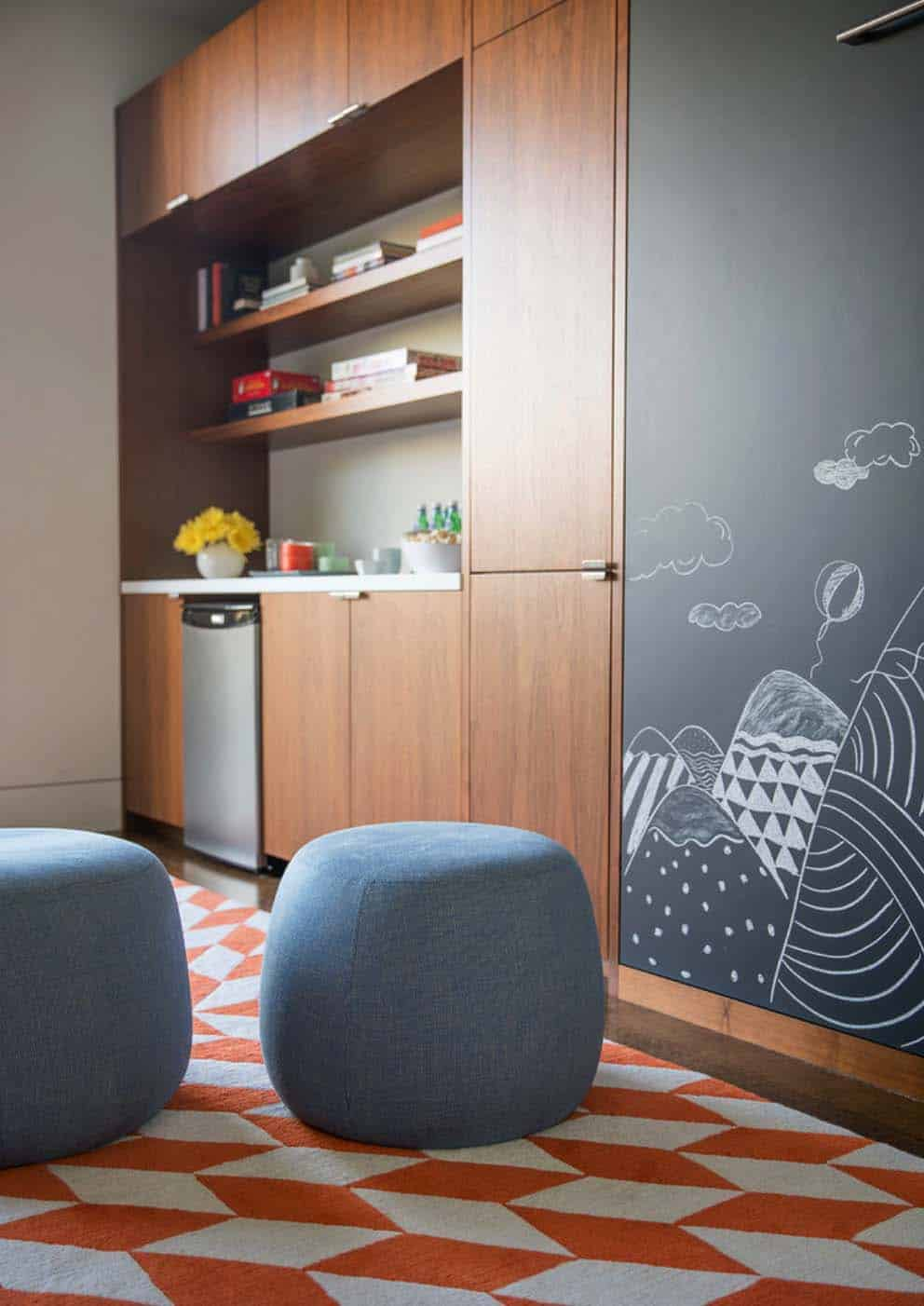 Contemporary Home Design-Playroom