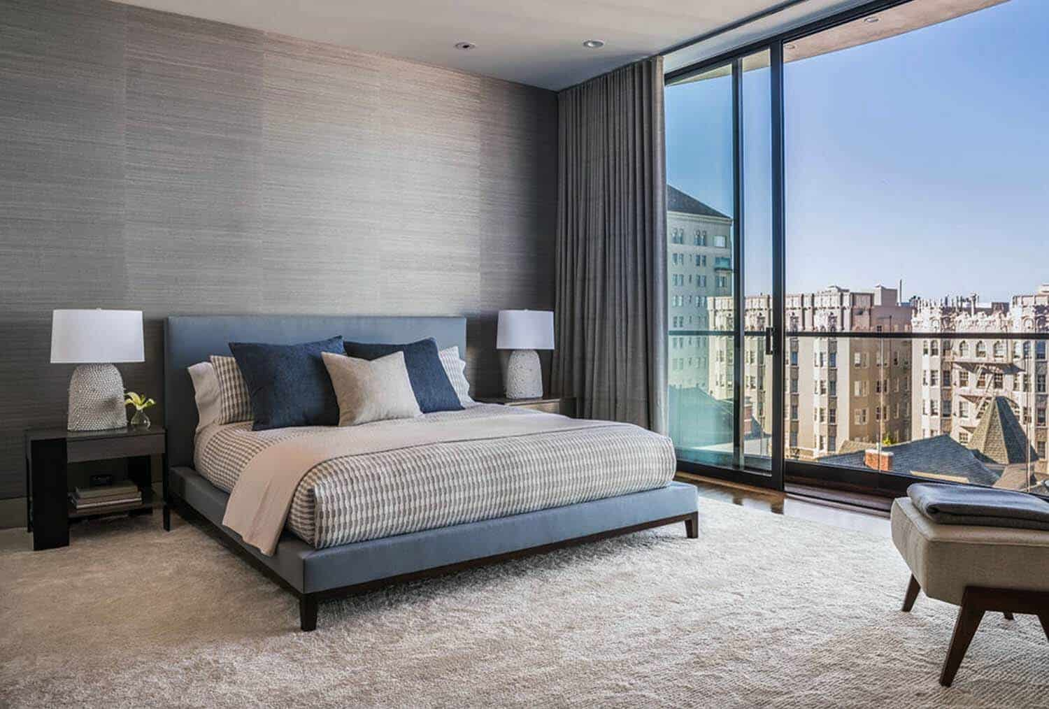 Contemporary Home Design-Master Bedroom