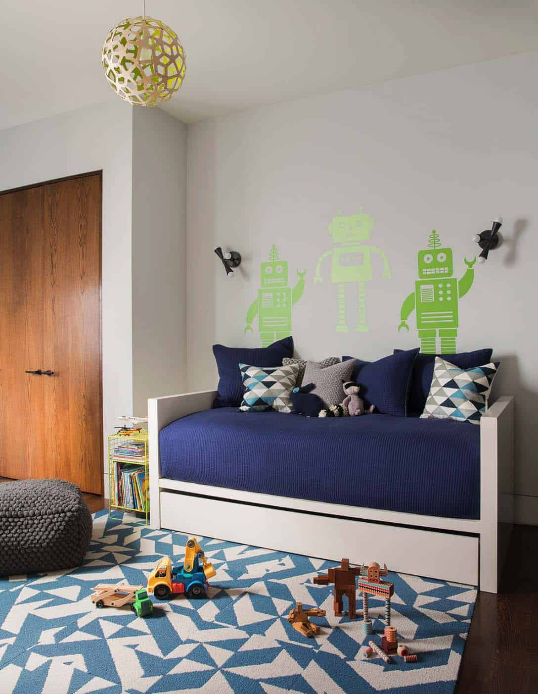 Contemporary Home Design-Kids Bedroom