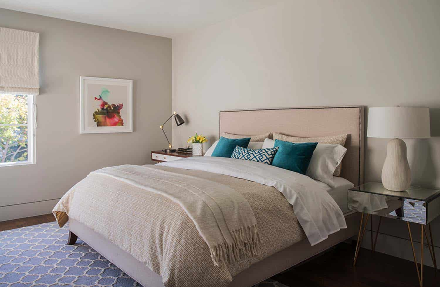 Contemporary Home Design-Guest Bedroom