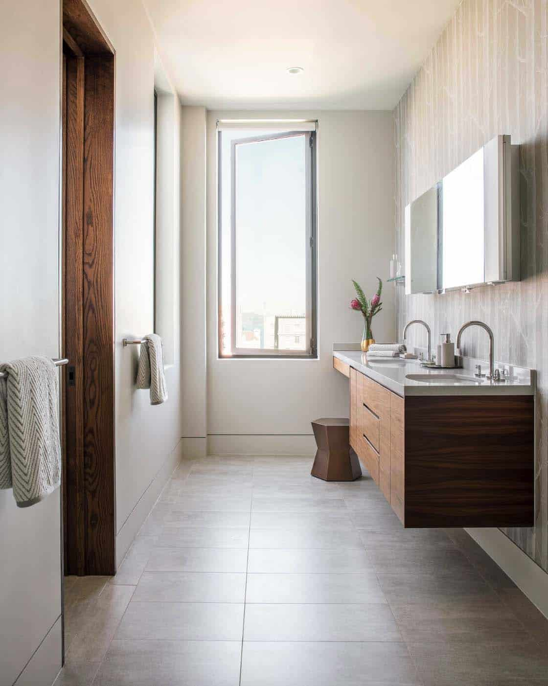 Contemporary Home Design-Master Bathroom