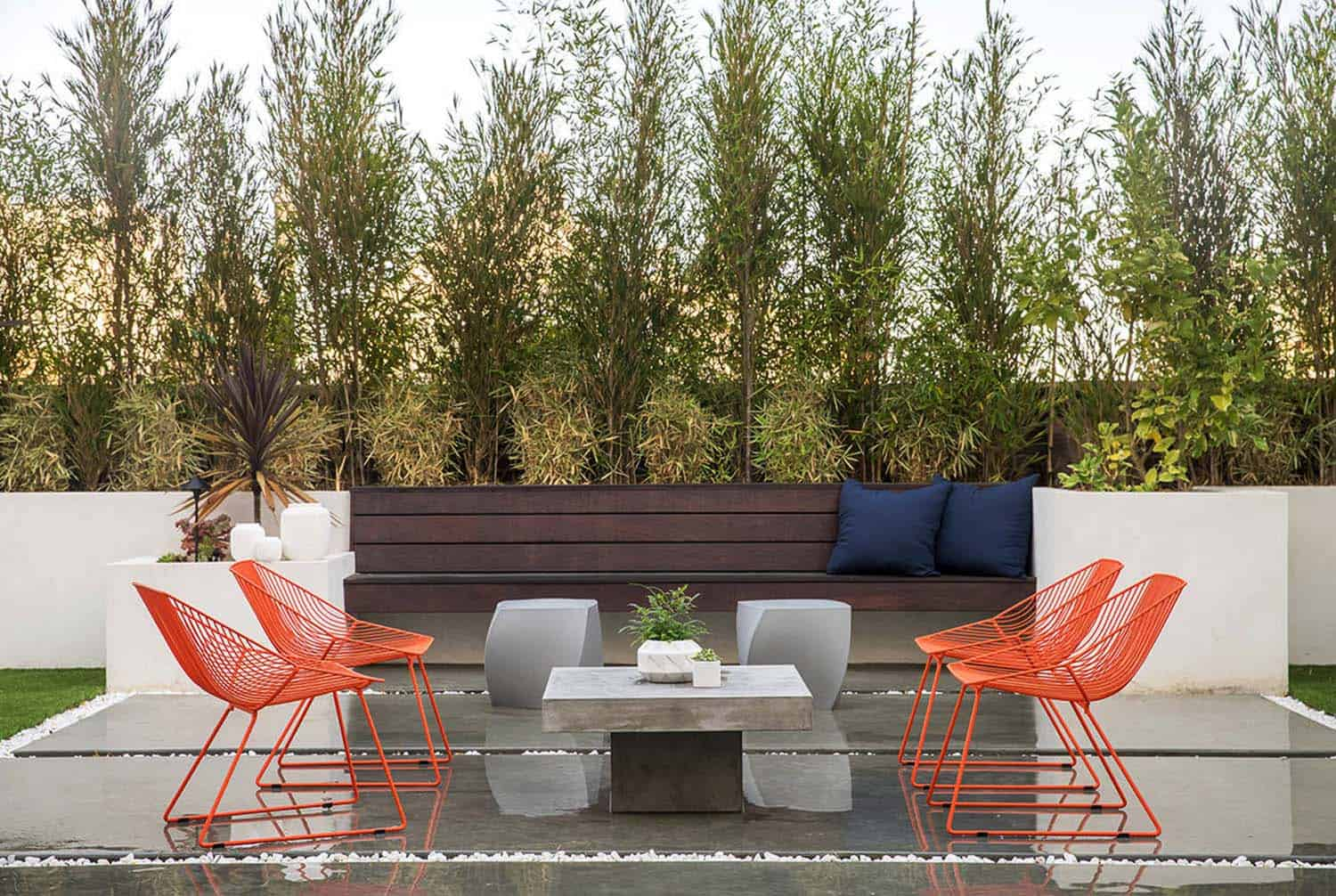Contemporary Home Design-Outdoor Patio