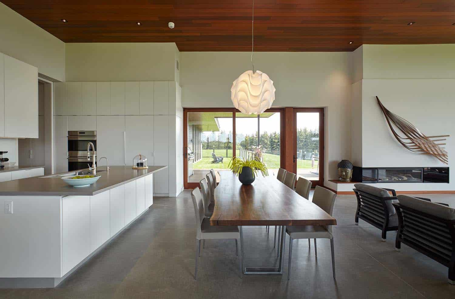 Modern Rural Country House-Kitchen