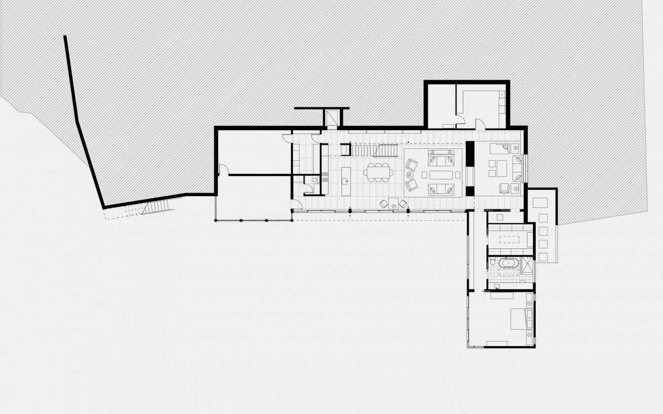 Contemporary Home-Floor Plan