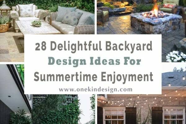 featured posts image for 28 Delightful backyard design ideas for summertime inspiration