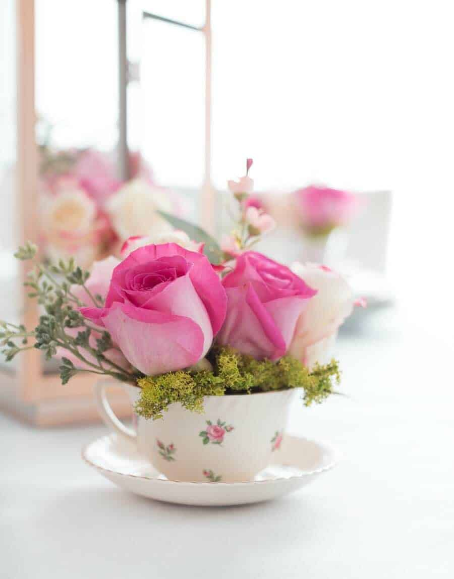 How To Decorate Your Home With Spring Floral Arrangements-03-1 Kindesign