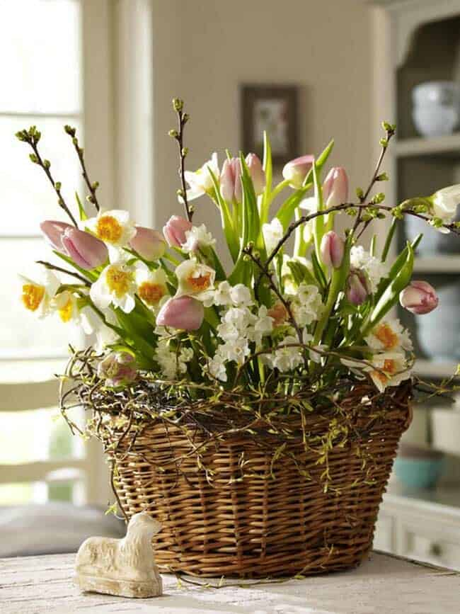 How To Decorate Your Home With Spring Floral Arrangements-13-1 Kindesign