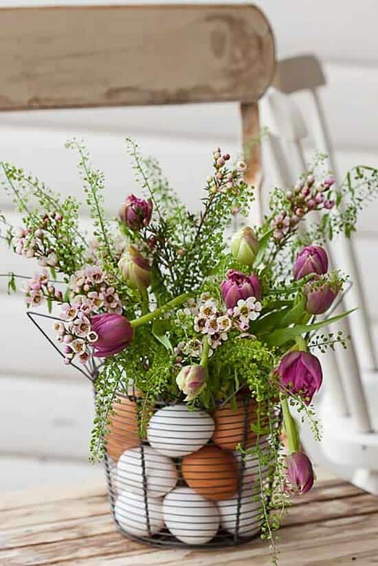 How To Decorate Your Home With Spring Flower Arrangements-19-1 Kindesign