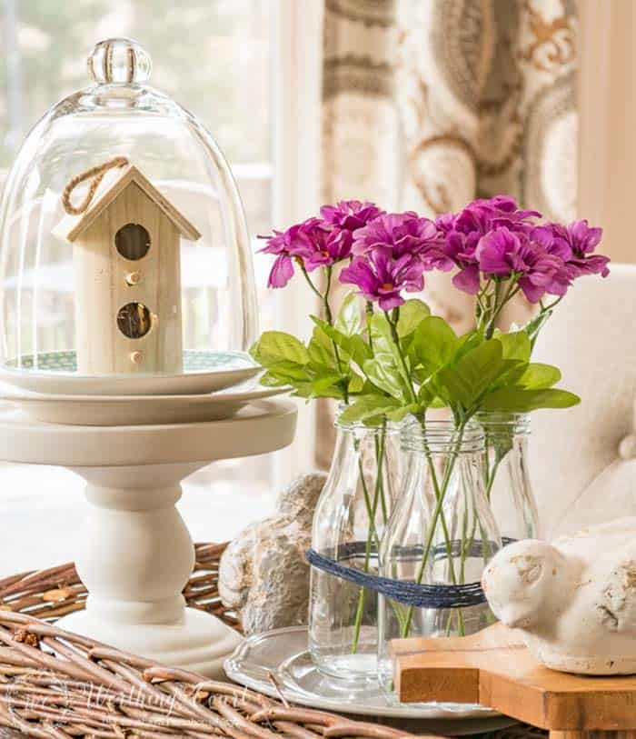 How To Decorate Your Home With Spring Flower Arrangements-20-1 Kindesign
