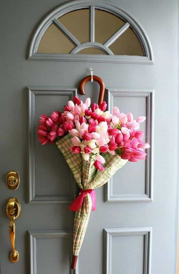 How To Decorate Your Home With Spring Flower Arrangements-21-1 Kindesign