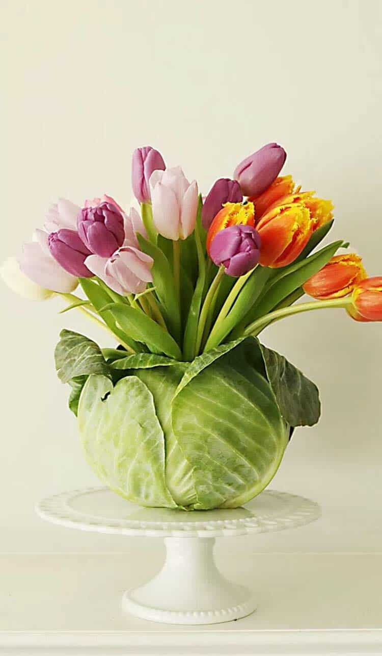 How To Decorate Your Home With Spring Flower Arrangements-23-1 Kindesign