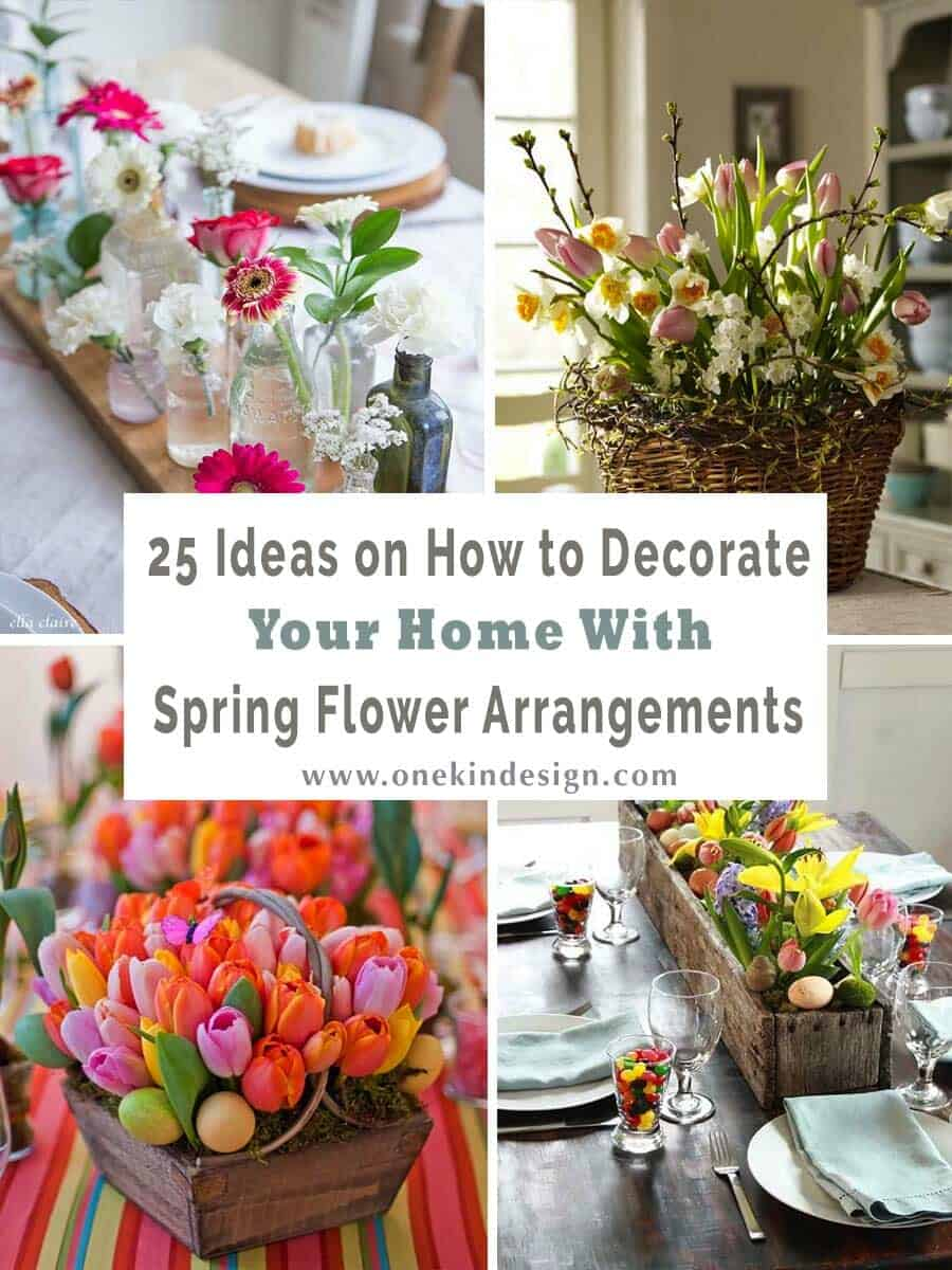 How To Decorate Your Home With Spring Flower Arrangements-00-1 Kindesign