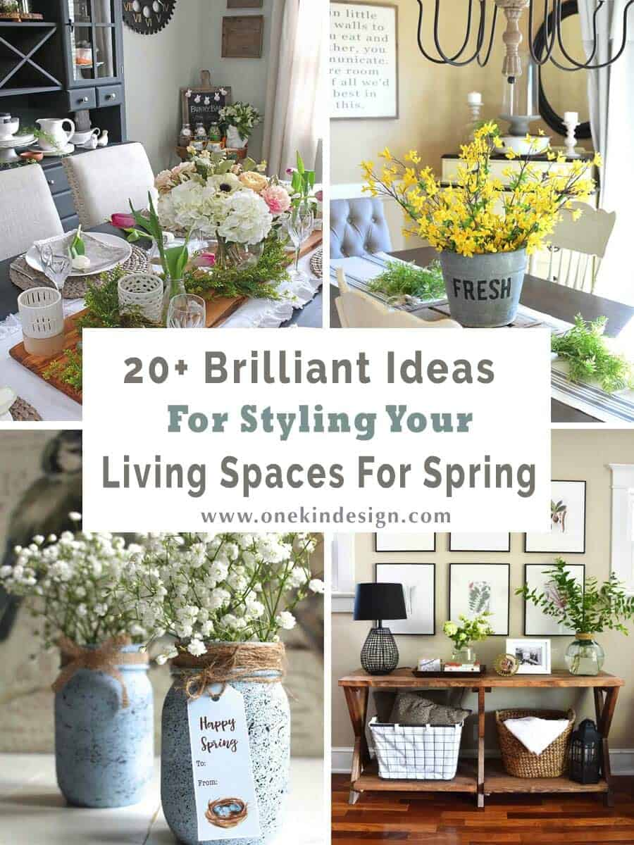 Ideas For Styling Living Spaces For Spring-00-1 Kindesign