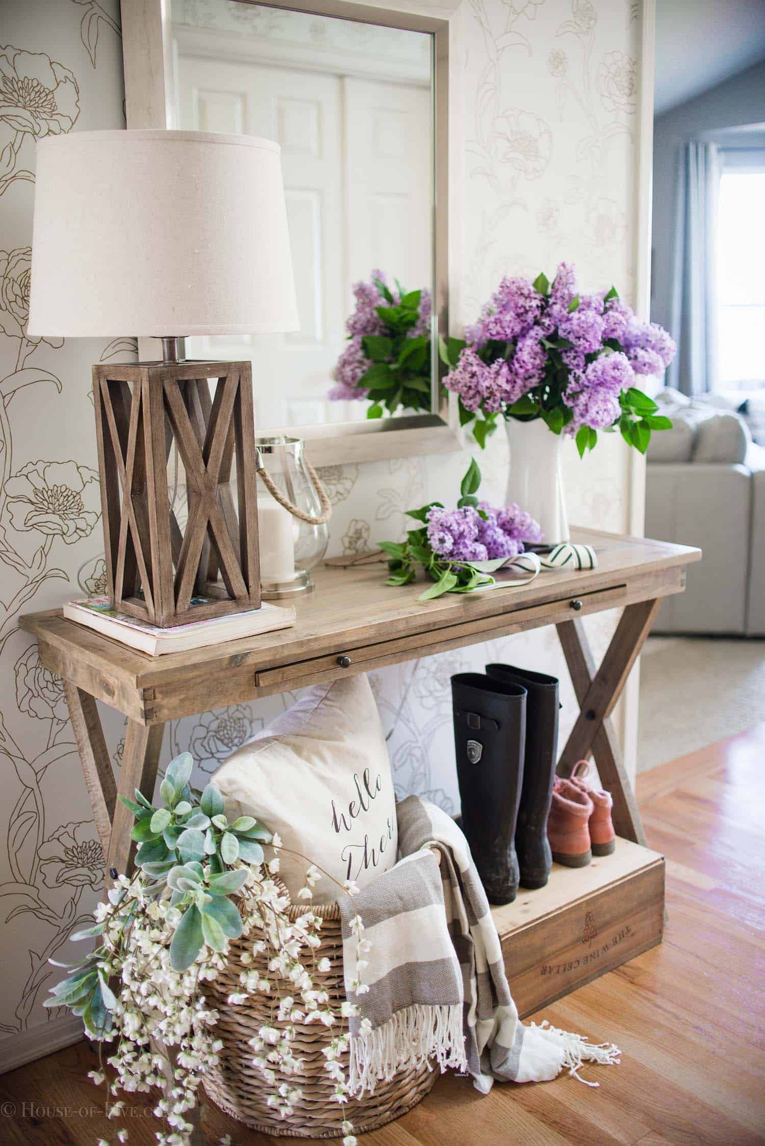 Ideas For Styling Living Spaces For Spring-14-1 Kindesign