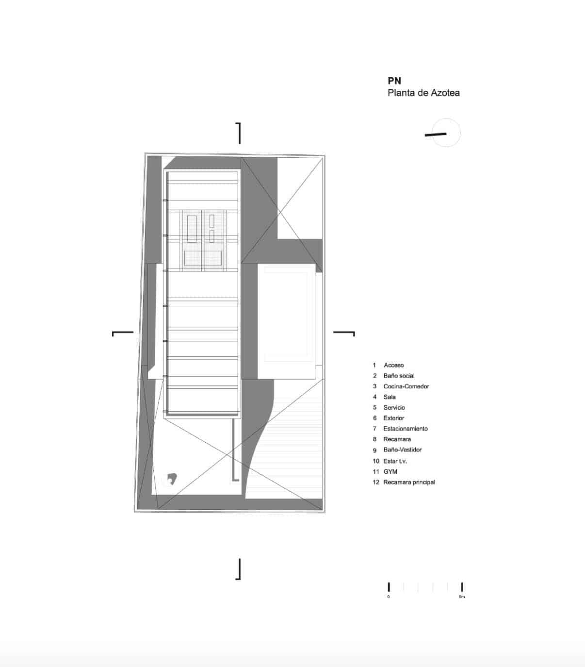Indoor-Outdoor Contemporary Retreat-Site Plan